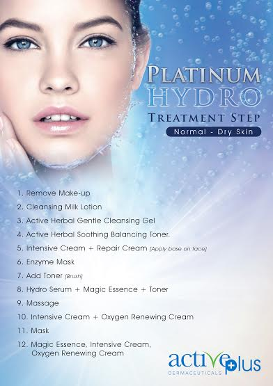 platinum hydro treatment step