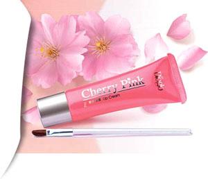 bioglo cherry pink lip cream02