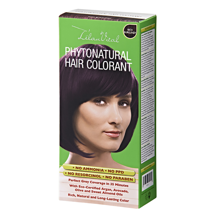 L'elan Vital PhytoNatural Hair Colorant – Rich Burgundy