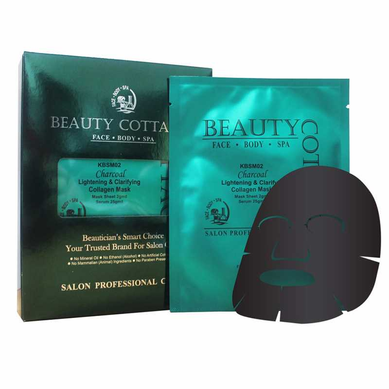 Beauty Cottage Charcoal Lightening & Clarifying Collagen Mask