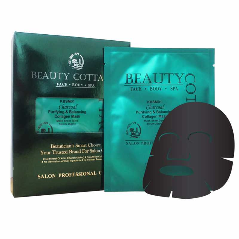 Beauty Cottage Charcoal Purifying & Balancing Collagen Mask