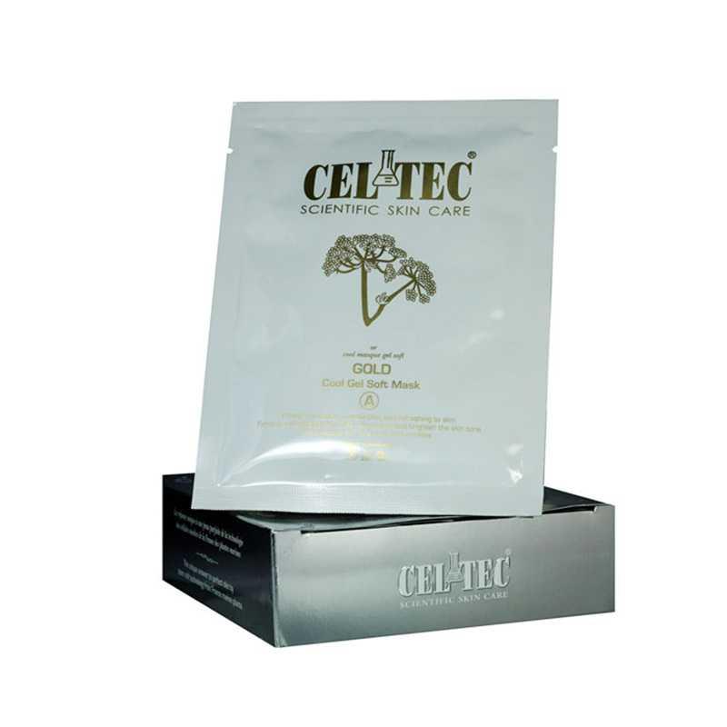 Celtec Gold Cool Gel Soft Mask