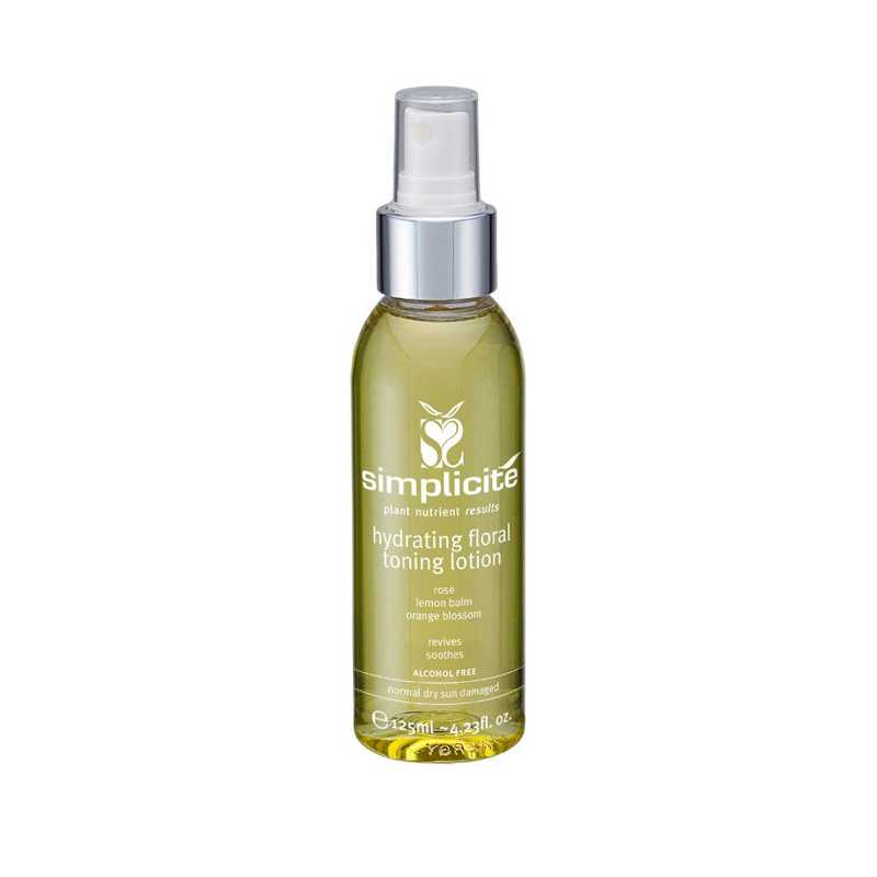 Simplicite Hydrating Floral Toner Normal