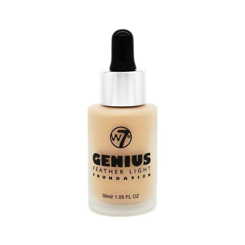 W7 Genius Foundation – Fresh Beige
